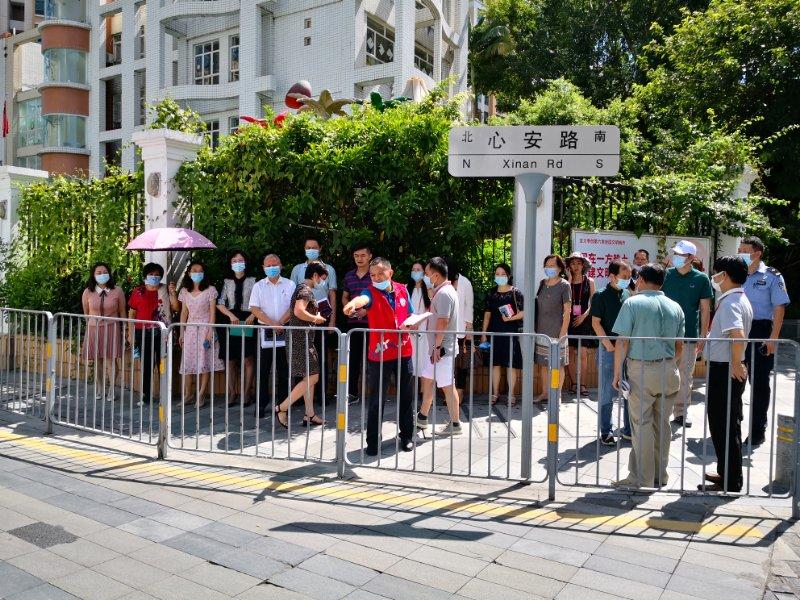 聚焦校园周边道路交通安全,翠竹街道开展人大代表走访调研活动