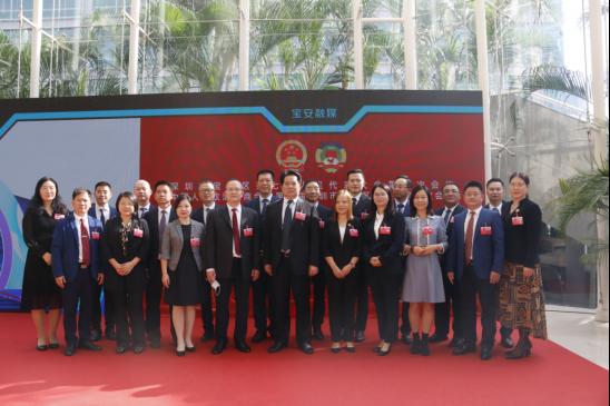 深圳市宝安区第七届人民代表大会第一次会议照片